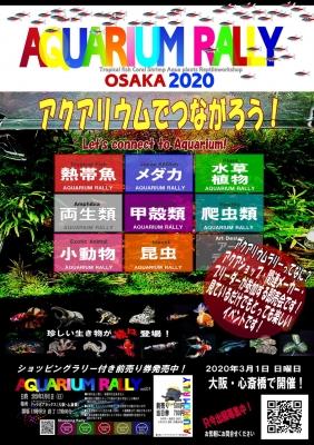 アクアリウムラリー大阪2020入場券を抽選で10組20名様にプレゼント!