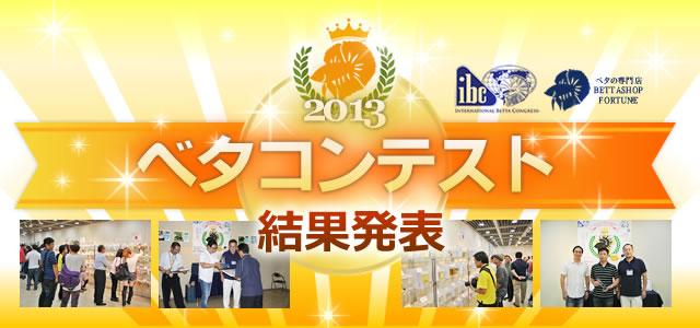 ベタコンテスト2013 結果発表