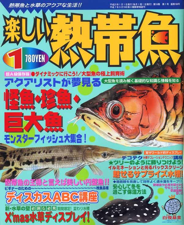 楽しい熱帯魚1月号
