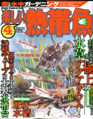 楽しい熱帯魚4月号