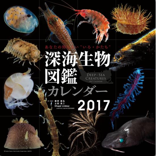 カレンダー深海生物図鑑2017